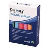 Dustless Color Chalk (12PC), Chalk