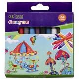 Non-toxic wax crayon 24color