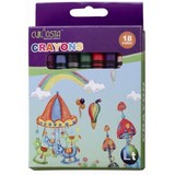 Non-toxic wax crayon 18color