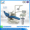 CE Approved KJ915 Dental Chair with Movable cuspidor
