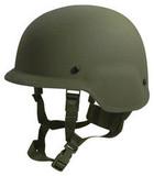 Ballistic Helmet, PASGT Style, Constructed To NIJ Standard.