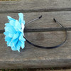Blue color flower hairband, hair accessories 113717