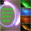 2m 20pcs 3.0mm optic fiber with 16W led engine light decoration for ceiling wall pool floor end tail flashing fiber optic light