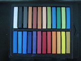 Temporary Color Hair Chalk 24 Colors(Chalk Your Hair)