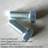 GR8.8 Hex Bolt Zinc Plated