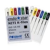 Dental hand NiTi K files