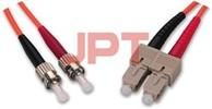 Fiber Optic Patchcords ST--SC MM Duplex Patch Cord
