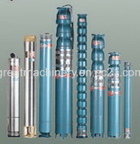 Submersible Pump, 250QJ, for 250mm  Dia Well