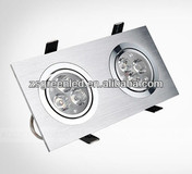 Indoor 2*3w High Quality LED Grille Light