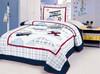 Cute Cotton Fabric Kids Bedding Set