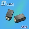 SMD Rectifier Diode with Plastic Package