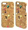 Water Transfering Cork Mobile Phone Case for Iphone 5