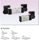 Airtac 4V300 Series 4V310-10 Solenoid Valve
