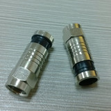 F connector for RG6/RG59
