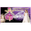 Hand Sensor Remote Control Flutterbye Flying Fairy with Light for Little Girl