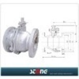 floating ball valve (float ball valve,ball valve) ,Worm Gear Ball Valve