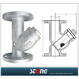Y strainer series ,Y-Type Strainers,cast steel Y-type strainer,filter valve