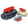2 way PVC ball valve