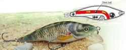 Rapala Quality Fishing Lure Bass Bait Plastic Baits--MINNOW