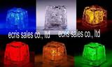27*27*25mm LED Flashing Ice Cube