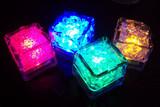 35*35*30mm LED Falshing Ice Cube