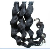Virgin brazilian hair, human hair weaving