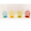 Metal wire bird cage small lantern candle holder tea light holder