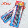colorful Fineliner marker [XSG factory directly sell] non-toxic water-based marker color pvc box packing