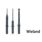 Dental laboratory CAD/CAM endmills for Wieland