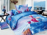 New Design Reactive Printed Bed Sheet/Bed Linen Fabric