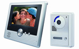 7 Inch Video Door Phone, Door Entry Intercom System