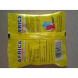 sachet packed detergent powder