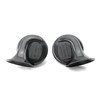 87mm plastic dual-tone snail electric car horn waterproof horn