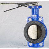 BS5155 Lever Wafer Butterfly valve