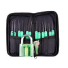 Locksmith practice lock with 15pcs lock pick set