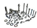 Titanium Alloy Metal Fasteners Pipe Fittings Screws