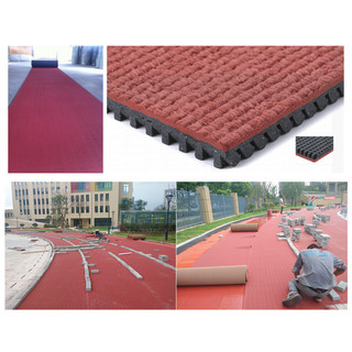 Prefabricated Rubber Athletics Track
