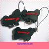 double sides soft PVC keychain