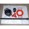 F 1300 valve seat and piston puller device