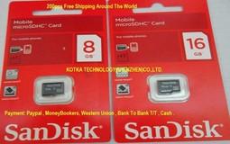 Micro SD SDHC Card 8Gb 16Gb 32Gb 64GB