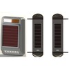Solar Powered Active Wireless Infrared Detector Perimeter Protection Courtyard Security On Spot Alarm Siren and Strobe