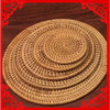 hight quality handmake rattan plate/mat