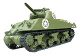 1/6 M4A3 Sherman Tank - 105mm Howitzer(Electric Powered)