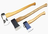 Felling Axe with Wooden Handle