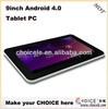 9inch tablet pc android 4.0,tablet pc 3g,android mid