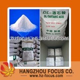 DL-Tartaric Acid Food Grade Factory Price