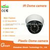 IR plastic dome cctv system with 20m ir distance 650tvl