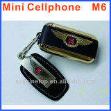 GSM B-GT car keychain Phone mini size key chart car key cell phone very small phone