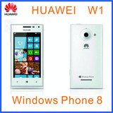 WCDMA CDMA2000 3G Huawei W1 Windows Phone 8 (WP8) MSM8230 Dual Core 4.0 Inch,800x480IPS Screen Browser IE10 phone