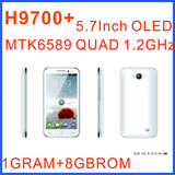 H9700+ (7100 note 2) smartphone mtk6589 8GROM 1GRAM android 4.1 GPS WIFI 5.0 Inch OLED 1280X720 Screen android phone
